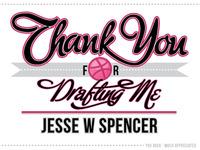 Thank You Jesse W Spencer