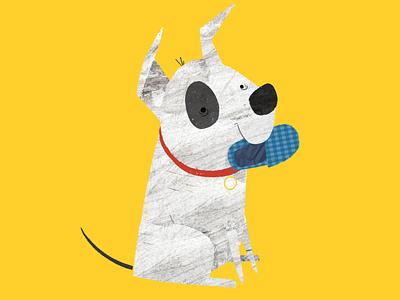 Happy National Puppy Day textures dog childrens illustration kidlit character design kidlitart book illustration picture book childrens book illustration