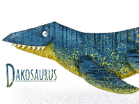 D is for Dakosaurus