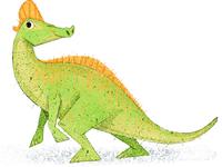 L is for Lambeosaurus