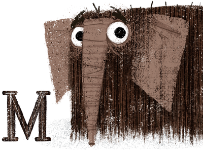 M is for Mammoth