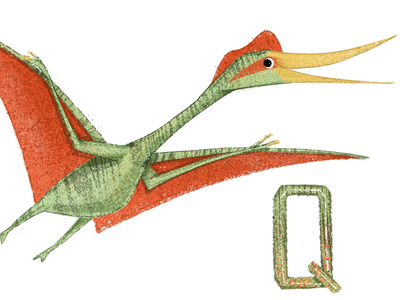 Q is for Quetzalcoatlus