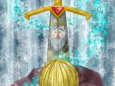 Sword in the Stone 🗡✨ digital painting illustrator childrens book illustration sword in the stone sword picture book childrens book kidlit kidlitart illustration