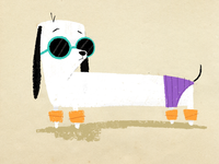 Beach Pup 🏖 🐶