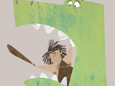 Prehistoric Pals 🦖 story childrens book illustration picture book book illustration childrens illustration dinosaur kidlitart illustration childrens book