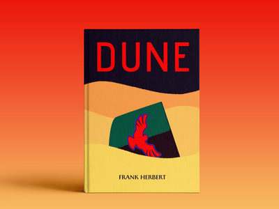 Dune - book cover graphicdesign book