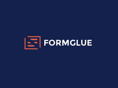 FormGlue Logo logo design form webapp