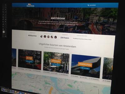 Buurtlink neighborhood social platform community buurtlink neighborhood amsterdam