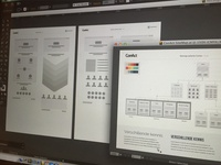 Low-fidelity wireframing