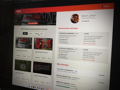 Dashboard employer  ui dashboard courses profile webdesign website denkgroot