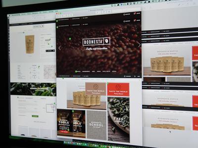Webshop design - Boonesta boonesta interaction design coffee ui webshop