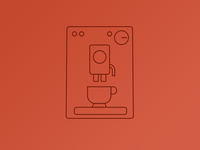 Coffeemachine icon