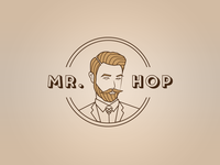 Logo - Mr. Hop