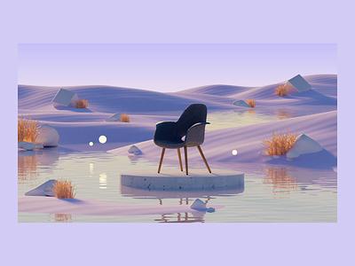 Product 3D experience illustration design enivronment universe website ux ui interactive art direction 3d animation product page product concept 3d