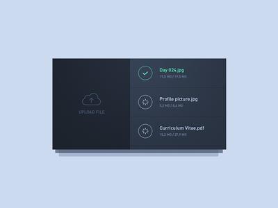 Day 24 - File upload widget