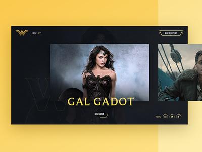 Wonder Woman concept #2 - Casting page