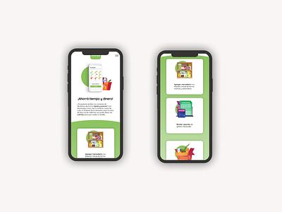 Alacenapp / Web Design ios typography app web design ui design minimal responsive mobile design interface ui uxui ux