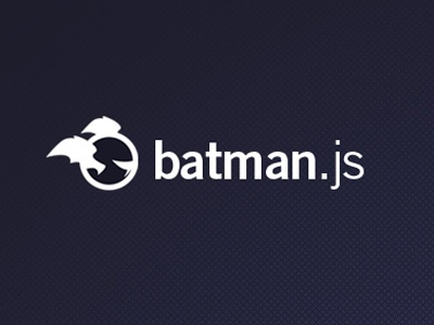 Batman.js Logo logo batman javascript vector