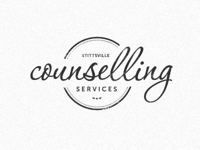 SCS logo logo cursive