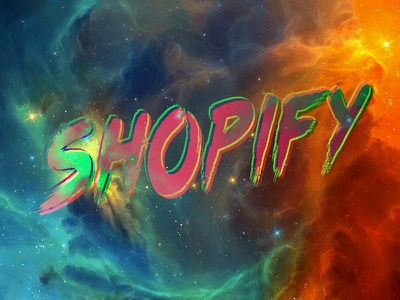 Neo Noire Shopify space galaxy type shopify signal noise neo noire