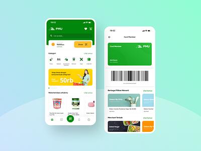Shop Market Apps Design grocery e-commerce commerce shop mobile mobile app ios android ux design ui ui exploration market