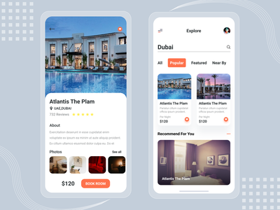 find hotel popular trendy trend iphone design uidesign ui ux graphicdesign dribbble best shot