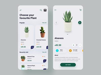 Plant apps iphone graphicdesign dribbble best shot motion design uidesign popular mobile app ux ui