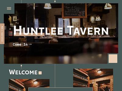 Tavern web design design web website website design pub tavern web design ui