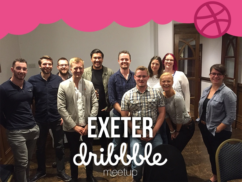 Exeter dribbble meetup