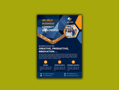 Corporate Flyer design Template catalog realstate attrective modern presentation graphic design corporate flyer company flyer template flyer design dl flyer a4 flyer corporate branding flyer flat professional design marketing logo business