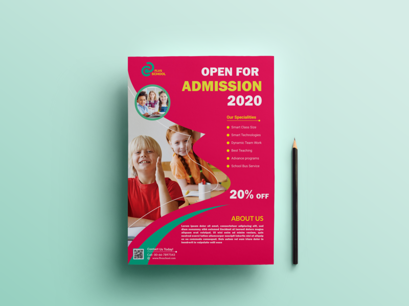 School Admission Flyer Design flyer graphic design print design webdesign banner design public school school project school presentation school logo admission flyer school flyer business catalog illustration design a4 flyer branding professional design logo marketing
