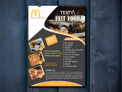Restaurant Flyer Design delivery service sale poster banner organic cafe print burger flyer fast food dl flyer restaurant flye restaurant flye booklet brochure a4 flyer branding logo catalog marketing business