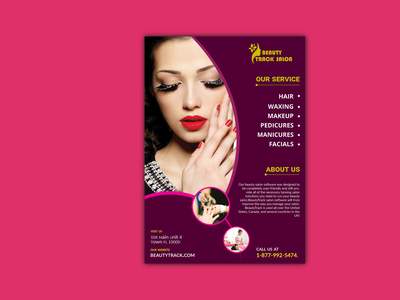Beauty Makeup Flyer Design facial hair brochure design art beauty flyer design creative design designs spa flyer beauty flyer mackup flyer design corporate flyer presentation professional design a4 flyer catalog branding logo marketing business