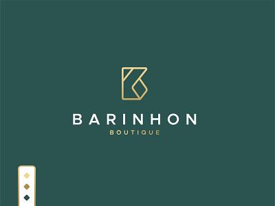 Barihon Boutique logo design logotype minimal logos luxury logo brand company logo business boutique logo