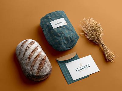 Flavors re-branding brand identity brand bakery branding logo redesign food bakery design identity design branding design graphicdesign branding logo design logo rebranding flavors