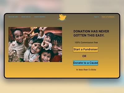 JustFunding donation charity website design webdesign web ux design ux ui  ux uidesign ui design