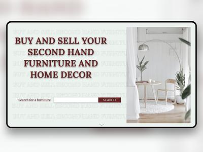 Home Decor home decor website design webdesign web ux design ux ui  ux ui uidesign design