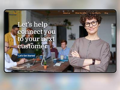 BConnect b2b sales b2b website b2b service business ux design ux ui  ux uidesign ui design
