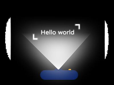 Neon text icons design text neon figma branding