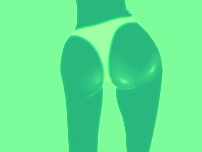 Shiny arse toonboom shine animation sexy dance butt ass motion motiondesign loop illustration framebyframe 2d