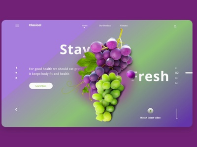 fruits landing page page service design web uiux ui landingpage homepage webdesigns clean delivery status delivery service fruits and vegetables online fruits webdesign