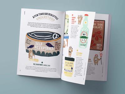 Editorial Illustration for AWW Magazine editorial illustration colorful illustration