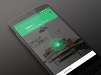 Breather for Android breather check in green android ui concept
