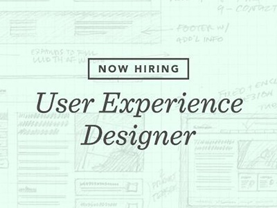Hiring UX Designer by Christian Allegra Poschmann Dribbble – Ux Designer Job Description