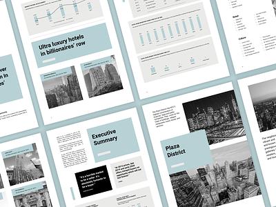 Investment teaser slide deck designer real estate design graphs funding a4 paper documents powerpoint real estate realestate investments investor pitch