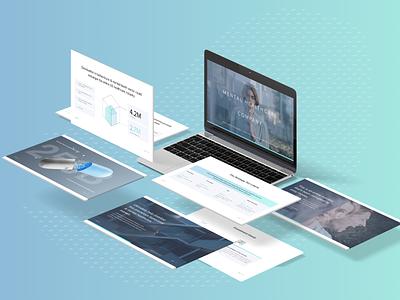 Investor deck fund vc presentation design venture capital keynote design health healthcare healthtech powerpoint presentation slide deck designer pitch deck design investor deck