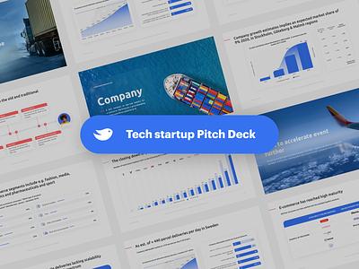 Delivery startup Pitch Deck tech startup delivery keynote presentation presentation pitch deck design slide deck designer business presentation powerpoint investor deck presentation design