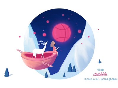 hello dribbble design