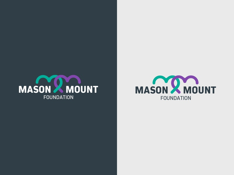 Maison Mount Foundation logo design design charity foundation illustrator logo