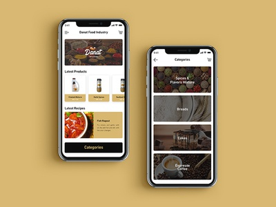 Danat Food Industry App